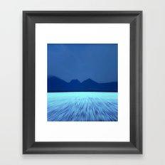 Blue by You! Framed Art Print