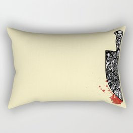 foul deeds Rectangular Pillow