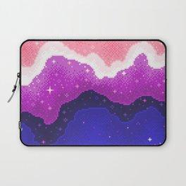 Genderfluid Pride Galaxy Laptop Sleeve