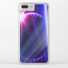 Parallel world Clear iPhone Case