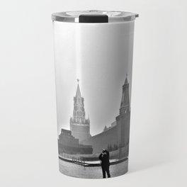 Red Square Travel Mug