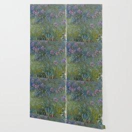 Claude Monet - Agapanthus flowers Wallpaper