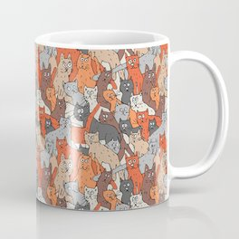 Cats pattern Coffee Mug
