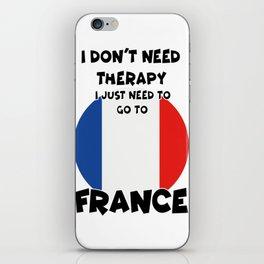 FRANCE iPhone Skin