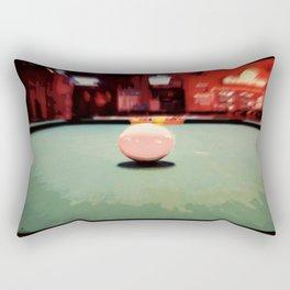 Cue Ball Abstract  Rectangular Pillow