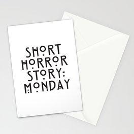 Short horror story: monday Stationery Cards