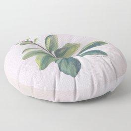 Saturday Morning Sedum Floor Pillow