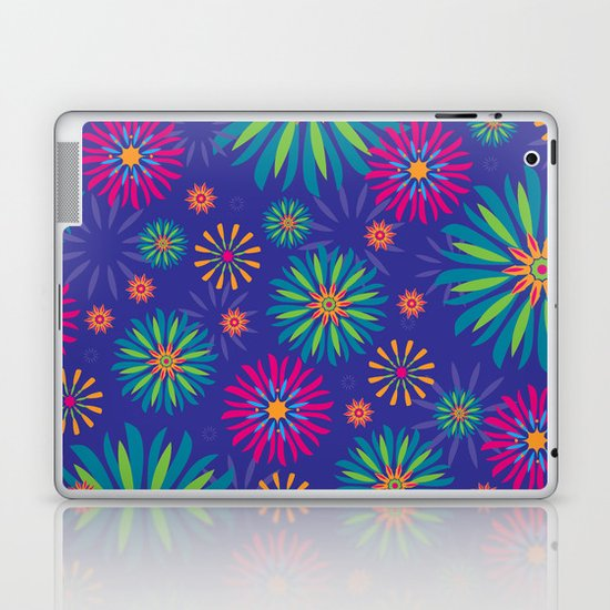 Psychoflower Violet Laptop & iPad Skin