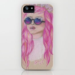 Pastel Flower Crown iPhone Case
