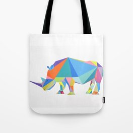 Pop rhino Tote Bag