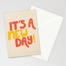 It's A New Day! Stationery Cards