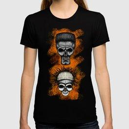 Yolandi and ninja style ErrorFace Skulls T-shirt