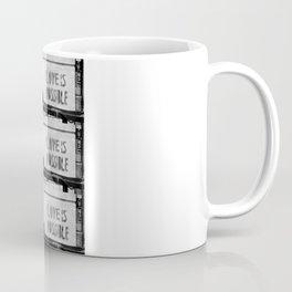 Love is possible - Berlin stencil Coffee Mug