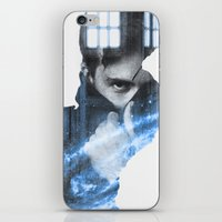 david tennant iPhone & iPod Skins featuring Tennant by Envide
