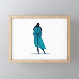 Starry Night Kimono Framed Mini Art Print