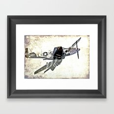 Mustang - The Original Framed Art Print