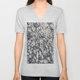 Granite Texture Unisex V-Neck