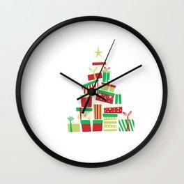 I Like Big Trees I Cannot Lie Xmas Trees Christmas Eve Xmas Holiday Celebration Wall Clock