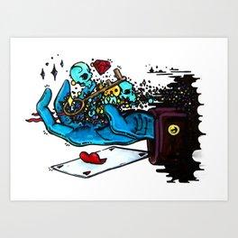 The Trick Art Print