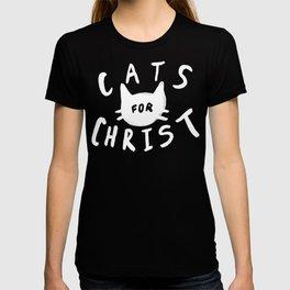 Cats for Christ x Mustard T-shirt