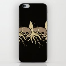 THE WHALE AND THE SQUID iPhone & iPod Skin