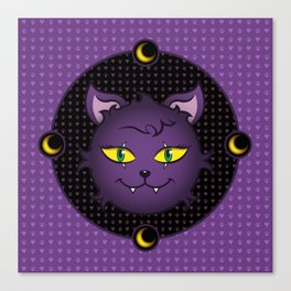 Crescent - Monster High Pet Canvas Print