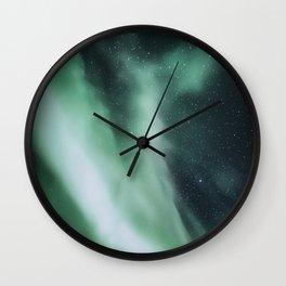 Misty Milky Way Wall Clock