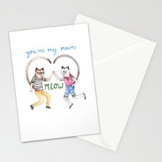 You're My Main Meow Stationery Cards
