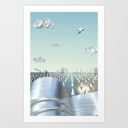 Steeland Art Print