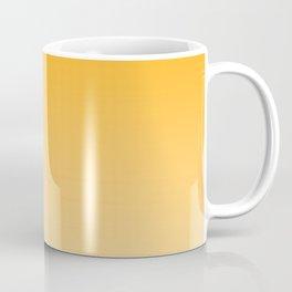 Orange to Pastel Orange Horizontal Linear Gradient Coffee Mug