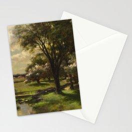 Bridge in Late Spring by John Appleton Brown (1844-1902) Stationery Cards