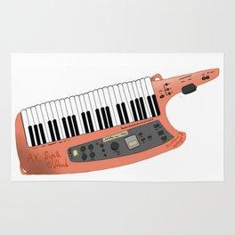 How Cool Can A Keytar Get? Rug
