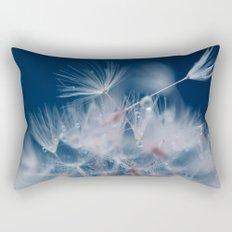 Snow Dandelion Rectangular Pillow
