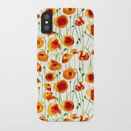 Poppy Sunrise iPhone Case