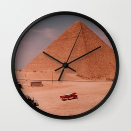 My Father's Travels I Wall Clock