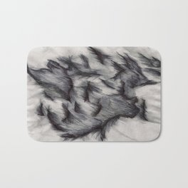 Psychedelic Waves Bath Mat