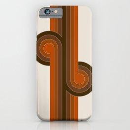 Cocoa Knots iPhone Case