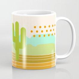 Blazin' - retro vibes southwest socal desert minimal 70s colors throwback 1970's art Coffee Mug