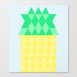 Pineapple House Canvas Print