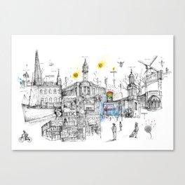 Brixton London Canvas Print