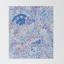 Ka-doodle Doodle Dooooo! Throw Blanket