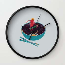 X-Food Wall Clock