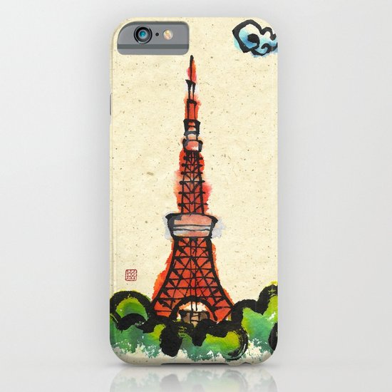Tokyo Tower iPhone & iPod Case