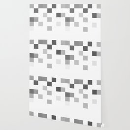 Gray Scale In Pixels Wallpaper