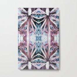 90s pastel grunge botanical garden Metal Print