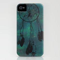 Dreamcatcher (teal) iPhone (4, 4s) Slim Case