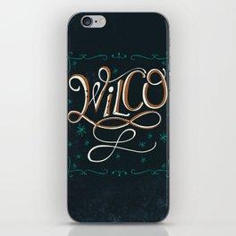 Wilco iPhone Skin