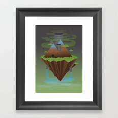 Save the Planet Framed Art Print