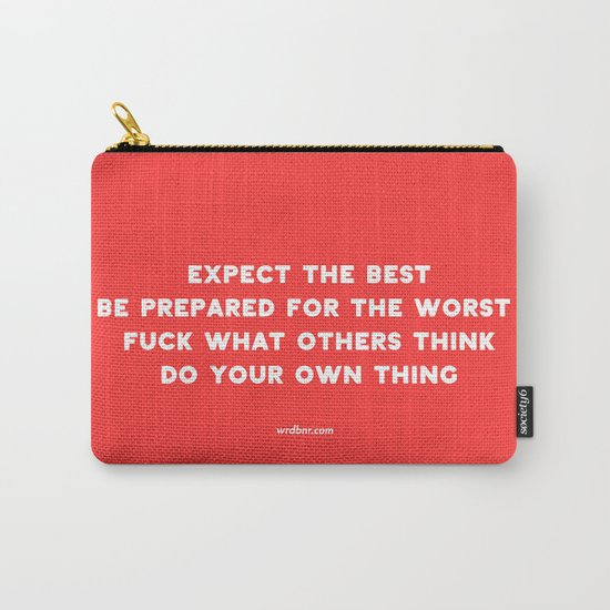 YOUR OWN THING Carry-All Pouch