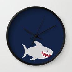 Happy Shark Wall Clock